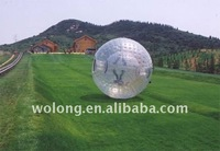 TPU body zorb ball, inflatable bouncy ball