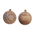 Luxury Gold Blank Medal With Flower Design For Wholesale