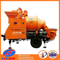 C3 Electric concrete mixer with pumping function, Concrete Mixer with Pump for sale