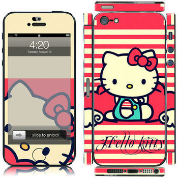 HELLO KITTY Decal skin stickers for i5 accessories