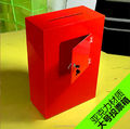 China wholesale acrylic charity donation box QCY-DO63