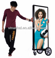 Free Shipping!!!J2B-036 New aluminum outdoor LED billboard advertising material