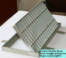 Galvanized steel grating,steel grating canal cover