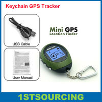 Personal gps tracker keychain , good for outdoor sports