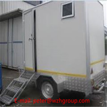 movable prefabricated toilet