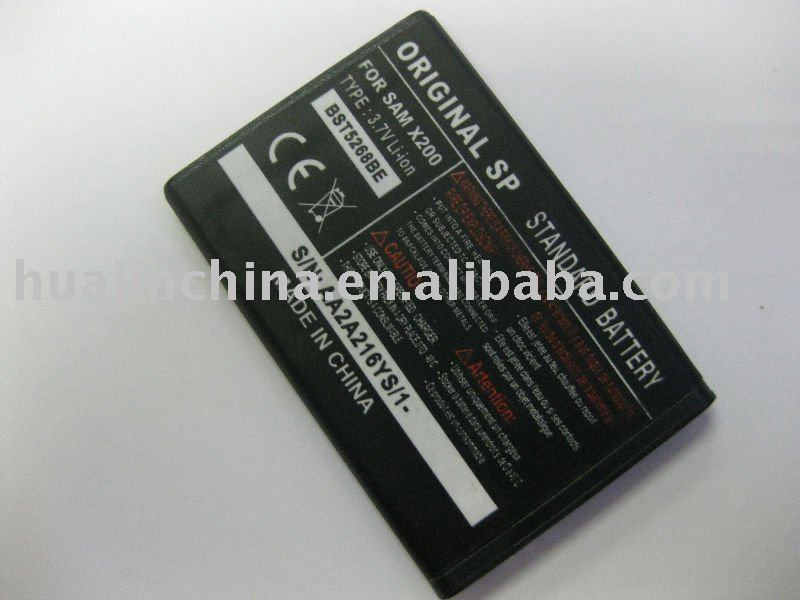 mobile phone battery for sam x200/BST5268BE