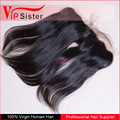 Original human hair Indian remy hair silky straight lace frontal hair