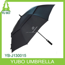 strong big men golf umbrella, solid color golf umbrella with shoulder strap bag