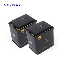 Wholesale custom metal tea Coffee packaging box with tin box