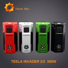 Tesla new vape mod Tesla 2/3 Tesla Invader 2/3 super vapor electronic cigarette price philippines