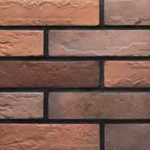GT Foshan clay japanese exterior wall tile,red building bricks