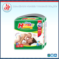 Horsen disposable baby diapers cheap factory price high absorption