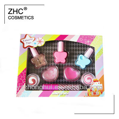 ZH2447 Butterfly nail polish make up kit