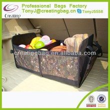 600D Polyester High Quality Car Trunk Organizer with PE scaleboard