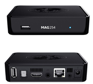 wifi tv box mag254 MAG 254 IPTV SET-TOP BOX for north america and Europe