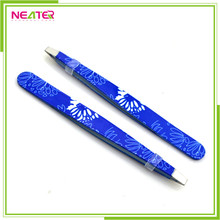 nail tweezer Professional Stainless BEAUTY EYEBROW TWEEZERS
