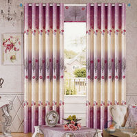 2014 china wholesale ready made curtain,metal mesh fabric drapery curtain