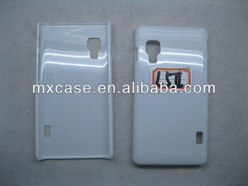Have stock! Blank PC cover hard case for LG Optimus L5II E455