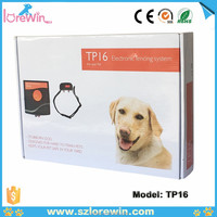 China outdoor dog fence pet training product wireless outdoor electric dog training fence LoreWin TP16 portable fences for dogs