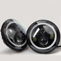 HANTU low MOQ CE ROHS IP67 certificates round motorcycle headlight from chinese factory