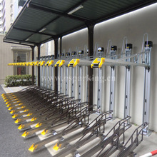 Double Tier Bicycle Rack With Horizontal Slide Rack