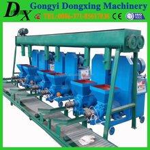 hollow sawdust briquette wood brick making machine for sale