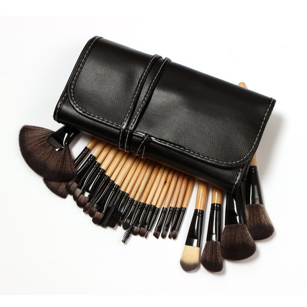 Private Label Acceptable Aoyue 24 pcs brush makeup ,facial <strong>beauty</strong> brush,make up brush sets