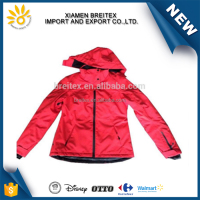Waterproof warm man softshell winter woman padded jacket