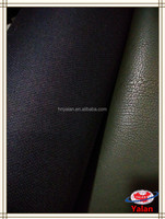 High quality finished different pattern with viscose back synthetic pu leather/faux /artificial/imitation leather