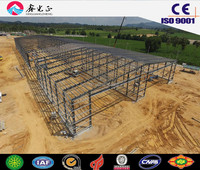 Pre-engineered prefab structural steel warehouse