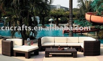 Outdoor wicker furniture,wicker sofa,outdoor sofa,patio set,outdoor rattan sofa,pool furniture