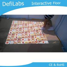 3D interactive projection system,kid games living interactive floor software