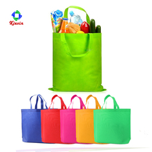 Eco non woven tote recycled shopping bags grocery non-woven tote