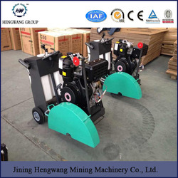 asphalt road cutter machine with 7.5KW motor cutting 400mm road cutting machine factory