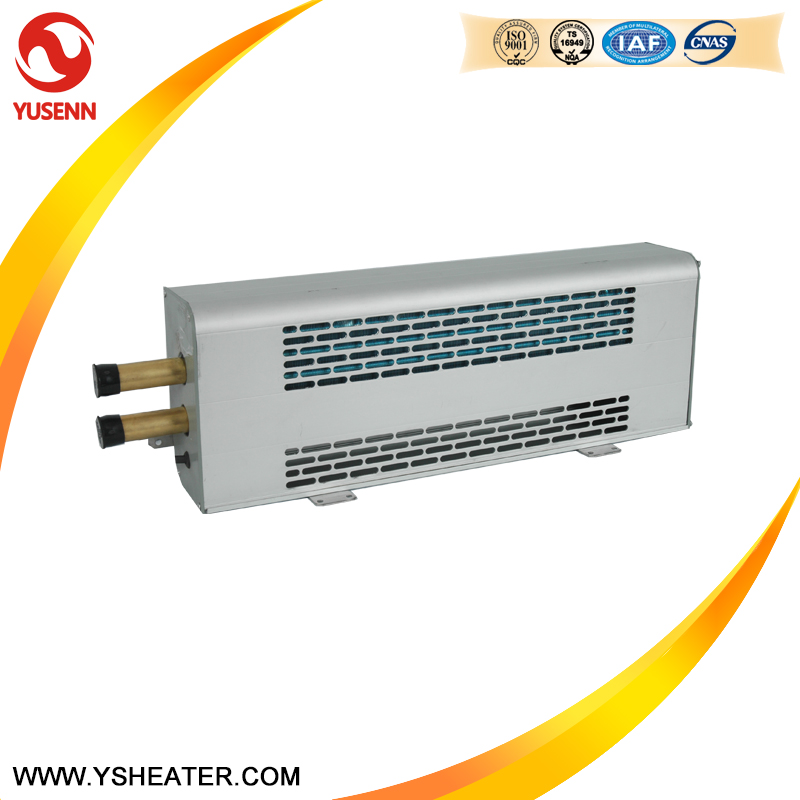 DC24V 4KW Copper Pipe Yutong Bus Wall-mounted Radiator