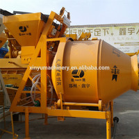 Electric /Diesel Engine JZC250 portable mobile concrete mixer