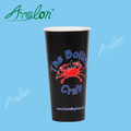 Compostable PLA coated paper coffee cup