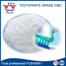 Toothpaste Grade CMC Sodium Carboxymethyl Cellulose thickener/ stability/ additive