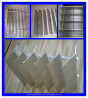 Plain Aluminum Sunscreen Louvers Louver Roof With Competitive Price Window Shutter