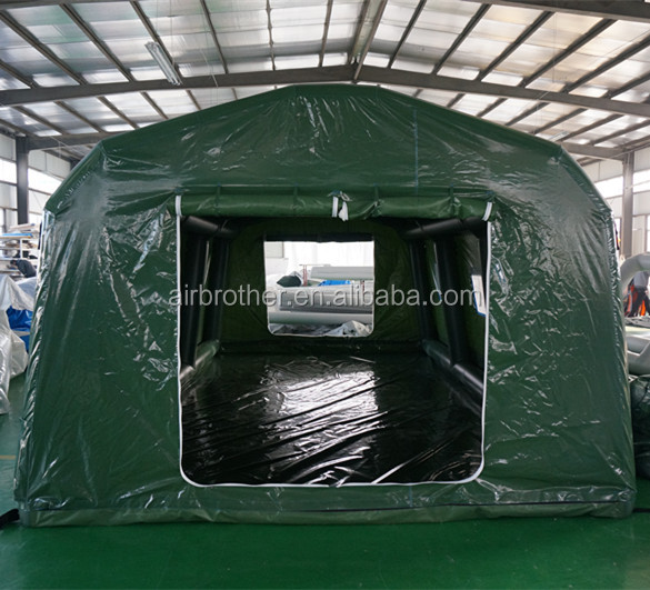 Multipurpose mobil big inflatable military tent army tent