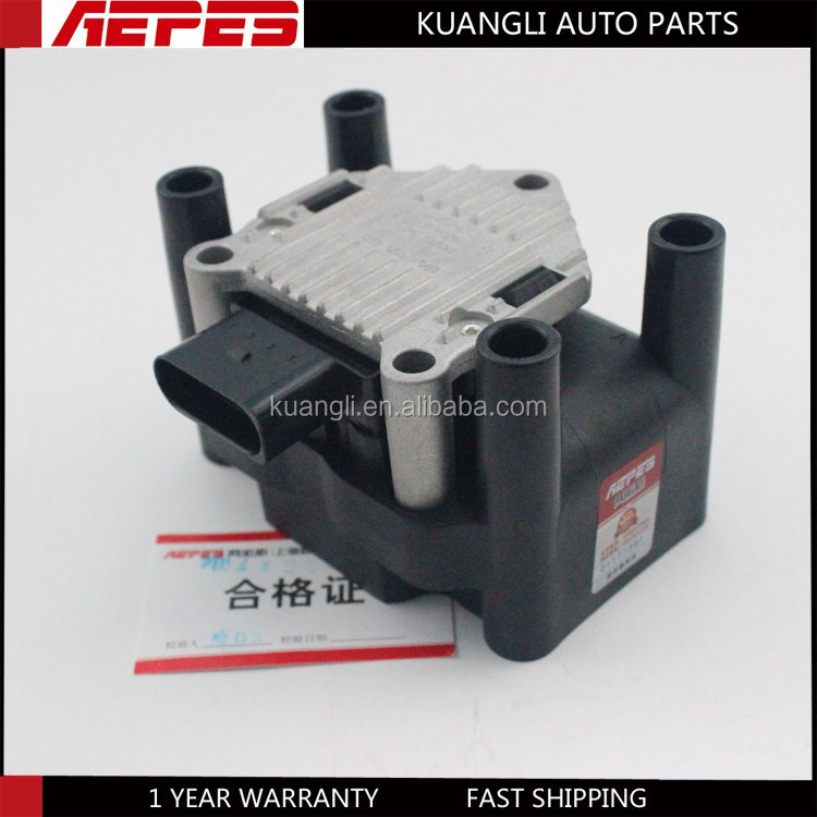 APS-08027 High quality 12V ignition coil for VW Audi A31.6/1.8 Audi A41.6 Jetta bora Santana 2000 GSI Golf 4 generation