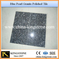 High Polished Imported Granite Blue Pearl
