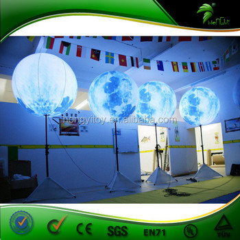 Beautiful Inflatable Party Decoration Standing Lighting For Sale