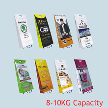 Paper Roller Bag Paper Roll trolley Display Eco Expo Box Corrugated Cardboard Trolley for Exhibition Trade Fair Show