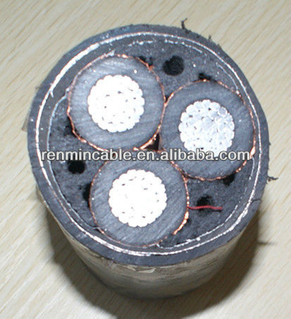 low voltage amored(amoured) Underground Cable power cable