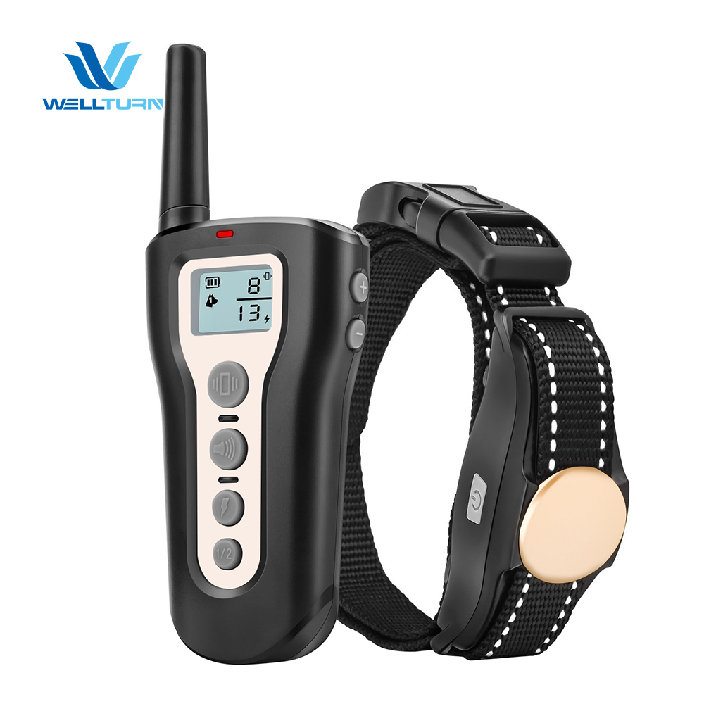 Waterproof 330Y Remote Control Dog Bark Collar Barking Trainer Vibration Beep Dog Shock Collar Dog Training Set Bark Control