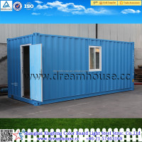 shanghai manufacturer flat prefab shipping container house/China 20ft Prefab shipping sea container home for sale