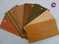 wood effect metallic powder coating