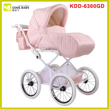 Aluminium comfortable baby stroller tricycle