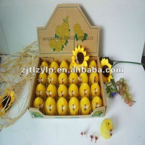 natural gift beeswax candles